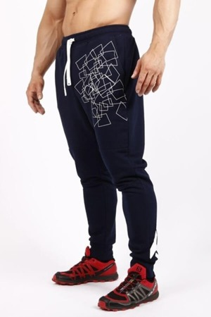 Trec Herren Trainingshose Jogginghose Pants TW 034 Navy- XXXL